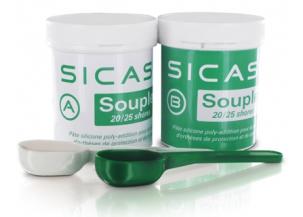 Silicona bi-componente SICASIL Blanda