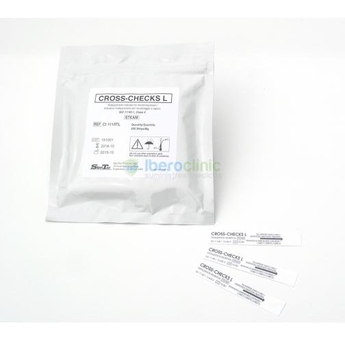Integrador quimico de control de esterilizacion para vapor Newmed