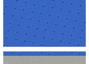 BI-DENSITE PE AZUL - DIM. 57 X 115 CM - EP. 7.5 MM Réf. 6575