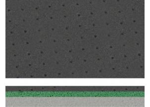 TRI DENSIDAD DYNAMIQUE - DIM. 55 X 115 CM - EP. 9.5 MM Réf. 6583
