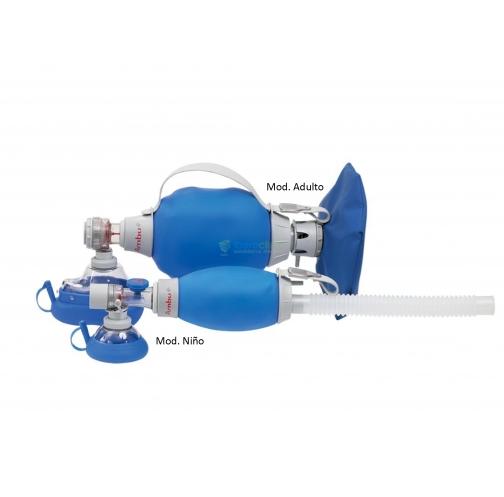 Resucitador reutilizable AMBU MARK IV Adulto