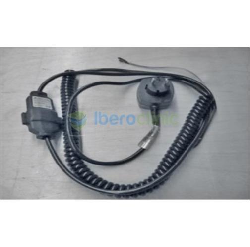 Cable de corriente con alargo y enchufe