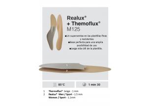 PLANTILLA REALUX + THERMOFLUX M125